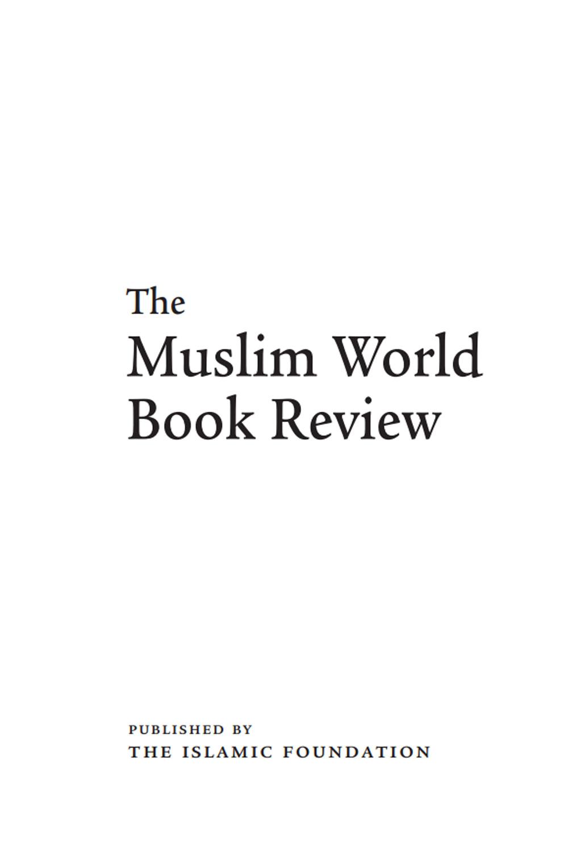 Abdul Aleem Siddiqi and His Mission and Fazlur Rahman Ansari: Life and Thou